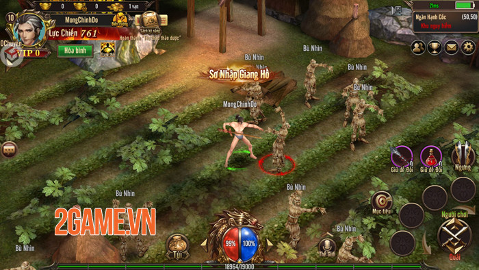 Dù là game mobile nhưng Mộng Chinh Đồ lại mang lối chơi rất PC 1