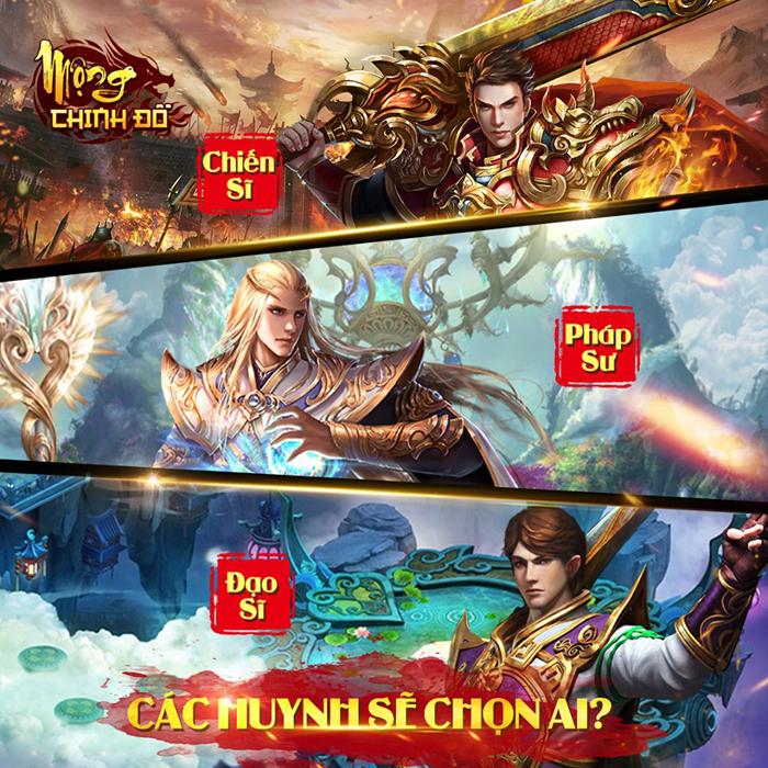 Dù là game mobile nhưng Mộng Chinh Đồ lại mang lối chơi rất PC 4