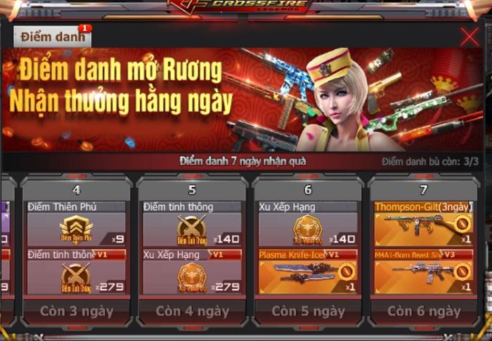 Trải nghiệm nhân vật và vũ khí VIP với giá 1 GEM trong chuỗi sự kiện Crossfire Legends 0