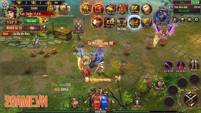 Mộng Chinh Đồ Mobile mô phỏng thời kỳ hoàng kim của dòng game nhập vai trên PC 1