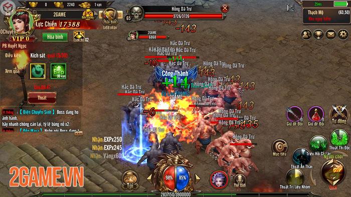 Mộng Chinh Đồ Mobile mô phỏng thời kỳ hoàng kim của dòng game nhập vai trên PC 3