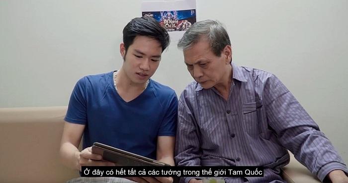 Tam Quốc Vương Giả tung clip phim ngắn cực cảm động nhân ngày lễ người cao tuổi 3