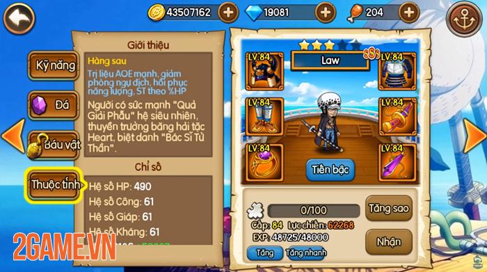 Muốn đi xa trong game Kho Báu Huyền Thoại bạn cần dùng ngay những tướng hỗ trợ này! 2