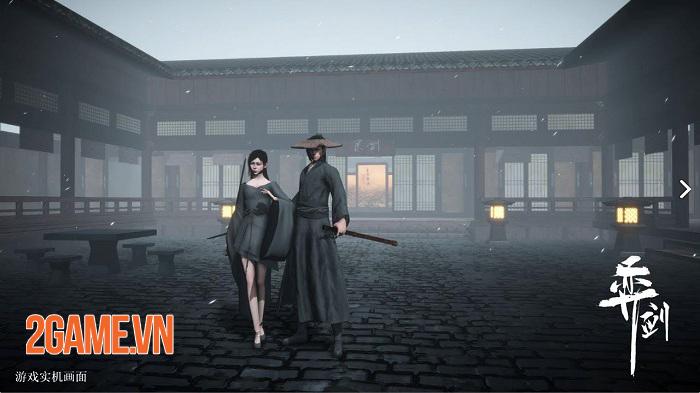 Yi jian - Game phong cách kiếm hiệp chỉ có PVP với đồ hoạ 3D bắt mắt 0