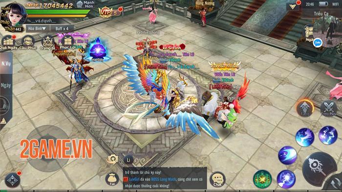 Phong Thần Truyện sở hữu hệ thống gameplay đồ sộ với tốc độ cày cấp cực nhanh 5