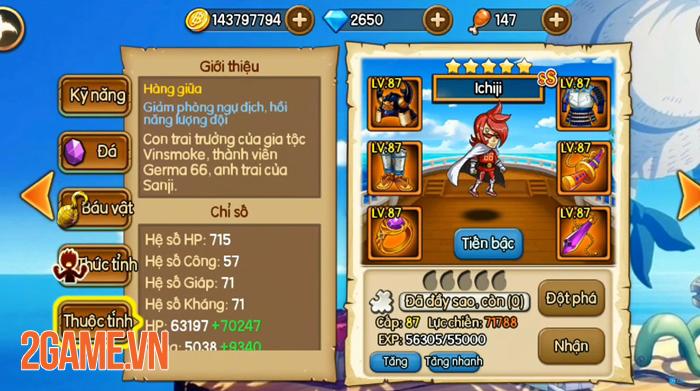 Muốn đi xa trong game Kho Báu Huyền Thoại bạn cần dùng ngay những tướng hỗ trợ này! 3