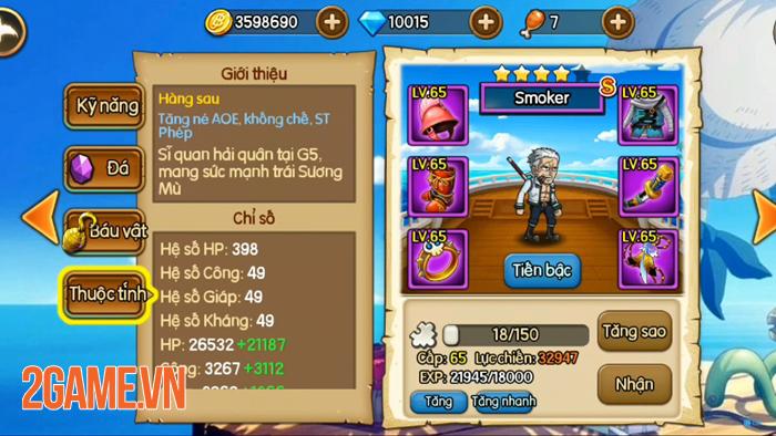 Muốn đi xa trong game Kho Báu Huyền Thoại bạn cần dùng ngay những tướng hỗ trợ này! 4