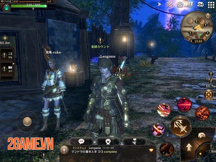 Eternal Mobile - Game MMORPG thế giới mở với đồ hoạ 3D chất lượng cao 1