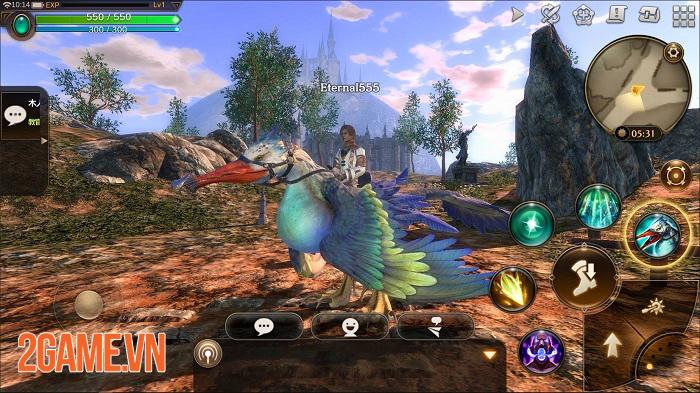 Eternal Mobile - Game MMORPG thế giới mở với đồ hoạ 3D chất lượng cao 3