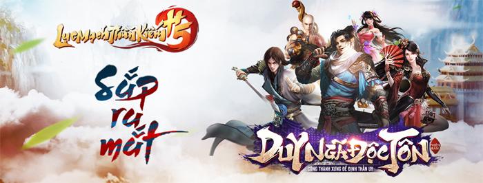 GOSU sắp ra mắt game mới Lục Mạch Thần Kiếm H5 4
