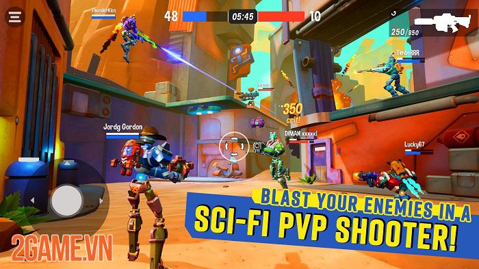 Blast Bots - Game bắn súng có thiết kế độc đáo và gameplay khốc liệt 1