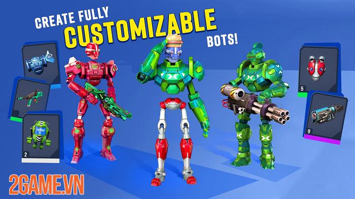 Blast Bots - Game bắn súng có thiết kế độc đáo và gameplay khốc liệt 2