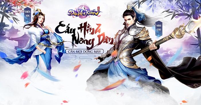 Đào Hoa Kiếm Mobile thách thức thị trường game nhập vai 3D Việt Nam 0