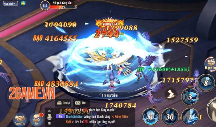Game nhập vai kute Thánh Linh 3D Mobile cập bến Việt Nam 3