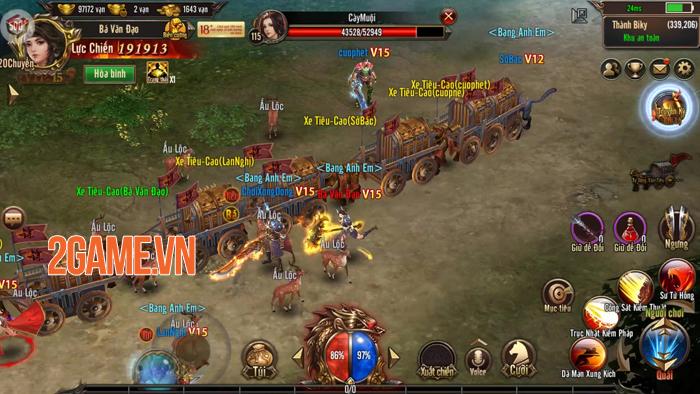 Thiên đường cày cuốc Mộng Chinh Đồ Mobile công bố ngày mở game 1