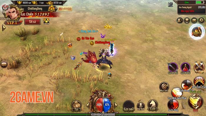 Thiên đường cày cuốc Mộng Chinh Đồ Mobile công bố ngày mở game 2
