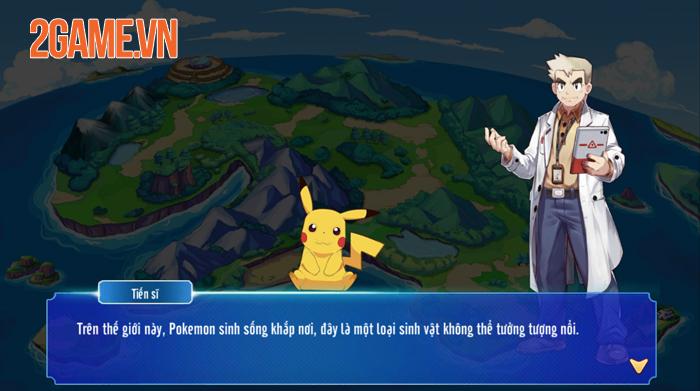 Game mới Poke M đã được VTC Game việt hóa xong 0