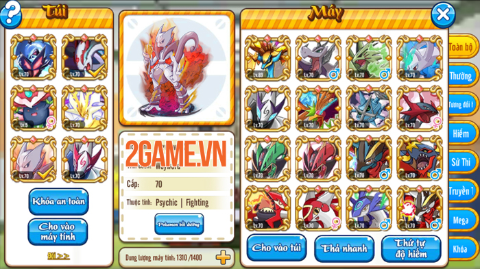 Game mới Poke M đã được VTC Game việt hóa xong 2