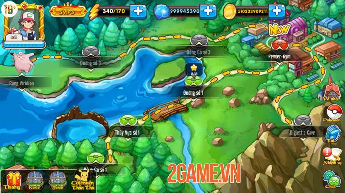 Game mới Poke M đã được VTC Game việt hóa xong 3