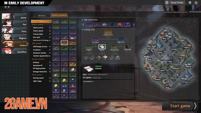 Black Survival: Eternal Return - Game sinh tồn mang đậm phong cách hành động 2