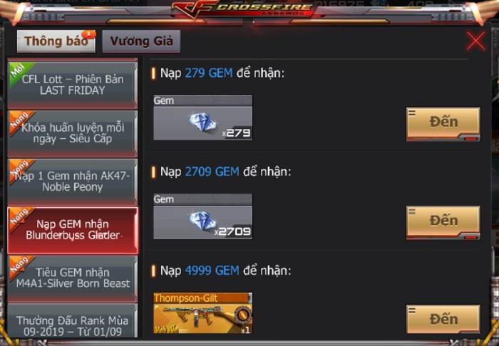Game thủ CrossFire Legends có cơ hội thu thập mảnh ghép nhận vũ khí VIP miễn phí 4