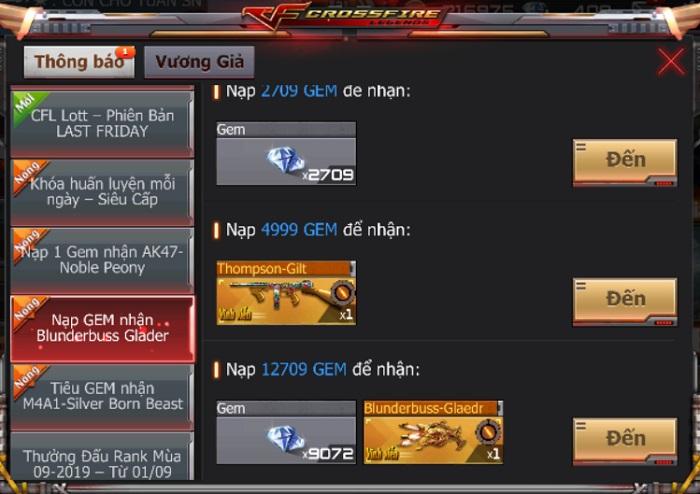 Game thủ CrossFire Legends có cơ hội thu thập mảnh ghép nhận vũ khí VIP miễn phí 5