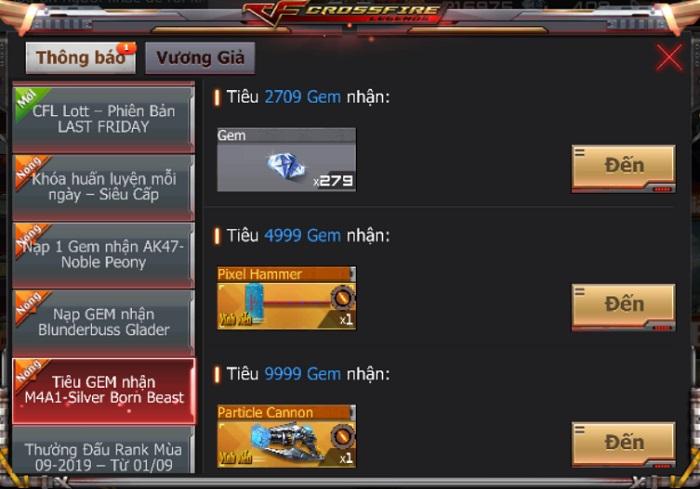 Game thủ CrossFire Legends có cơ hội thu thập mảnh ghép nhận vũ khí VIP miễn phí 6
