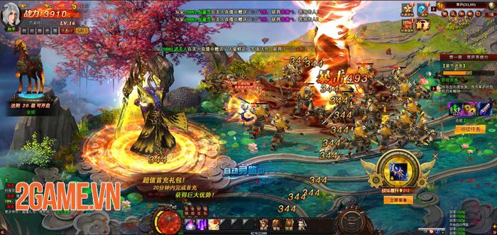 Webgame nhập vai Cửu Thiên 3 sắp đến tay game thủ Việt 2