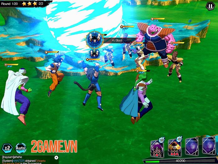 Fighter King - Game đánh theo lượt đề tài Dragon Ball với đồ hoạ 3D cuốn hút 2