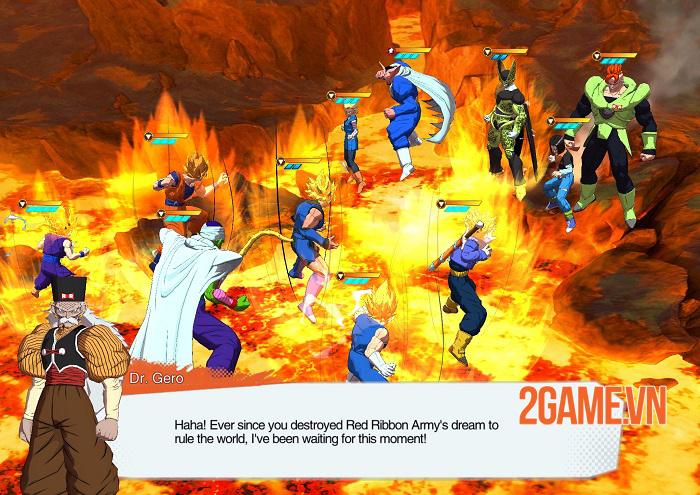 Fighter King - Game chiến thuật thẻ tướng đồ hoạ 3D chủ đề 7 viên ngọc rồng 2