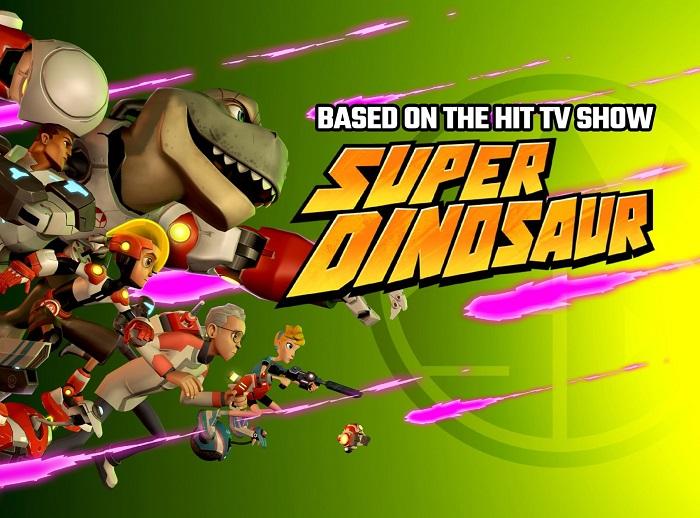 Super Dinosaur: Kickin' Tail - Game chiến thuật thẻ bài đồ hoạ hoạt hình thú vị 0