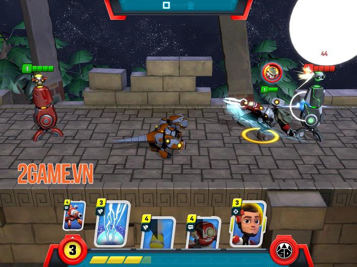 Super Dinosaur: Kickin' Tail - Game chiến thuật thẻ bài đồ hoạ hoạt hình thú vị 2