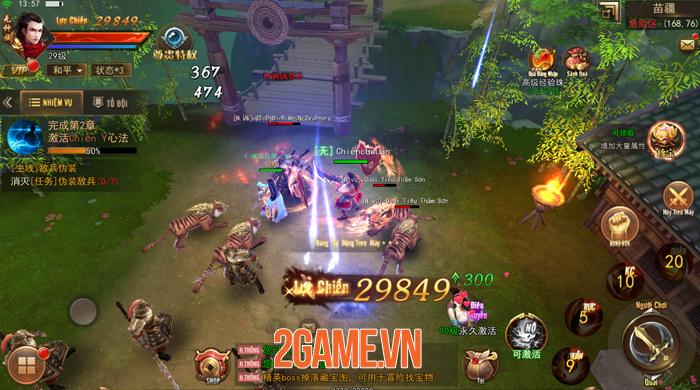 Gamota ra mắt MMORPG mới Kiếm Động 3D Mobile siêu cuốn hút 3