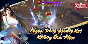 Gamota ra mắt MMORPG mới Kiếm Động 3D Mobile siêu cuốn hút