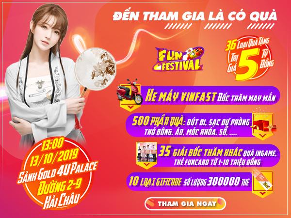 Đà Nẵng – Điểm hẹn cuối cùng của Fun Festival 2019 dành cho cộng đồng game thủ Funtap 0