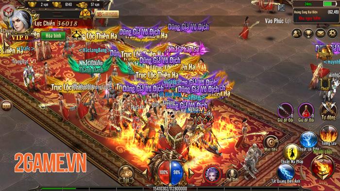 Mộng Chinh Đồ Mobile chật kín người chơi trong ngày Alpha Test 2