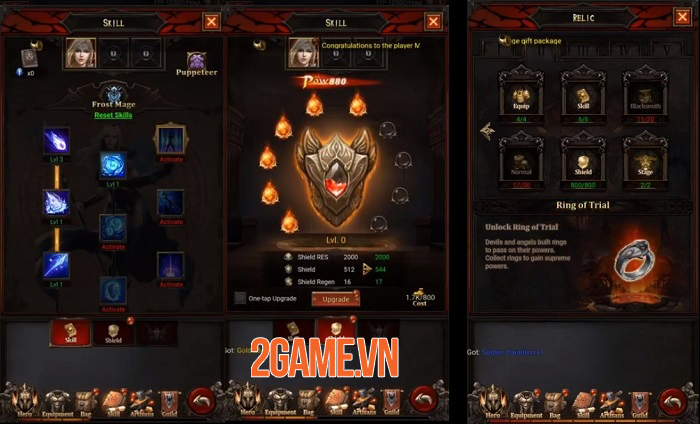 Abaddon mở ra một thế giới dark fantasy có lối chơi đơn giản nhưng cuốn hút 2