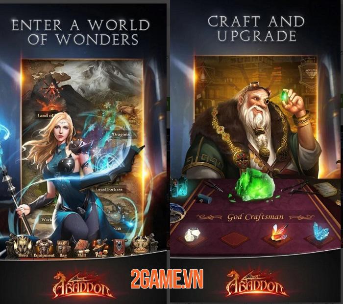 Abaddon mở ra một thế giới dark fantasy có lối chơi đơn giản nhưng cuốn hút 0