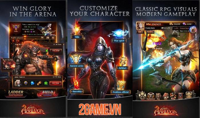 Abaddon mở ra một thế giới dark fantasy có lối chơi đơn giản nhưng cuốn hút 1