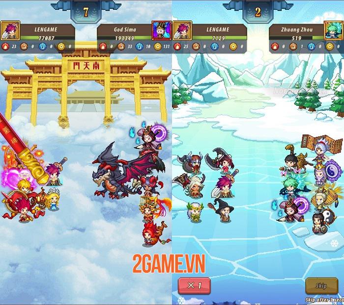 Adventure Legion - Game Idle RPG đồ hoạ 2D hoạt hình phong cách pixel 2