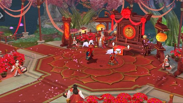 Tình Kiếm 3D cập nhật tính năng kết hôn đẹp như mơ trong phiên bản mới 0