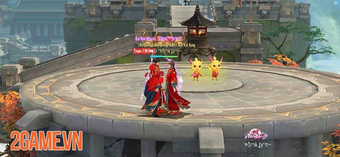 Muôn kiểu kết hôn trong game nhập vai Tình Kiếm 3D 2