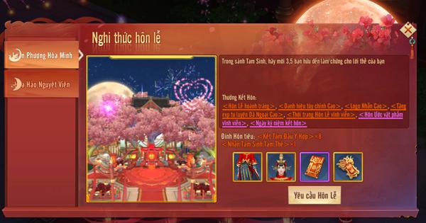 Tình Kiếm 3D cho phép người chơi tổ chức đám cưới vô cùng rình rang 4
