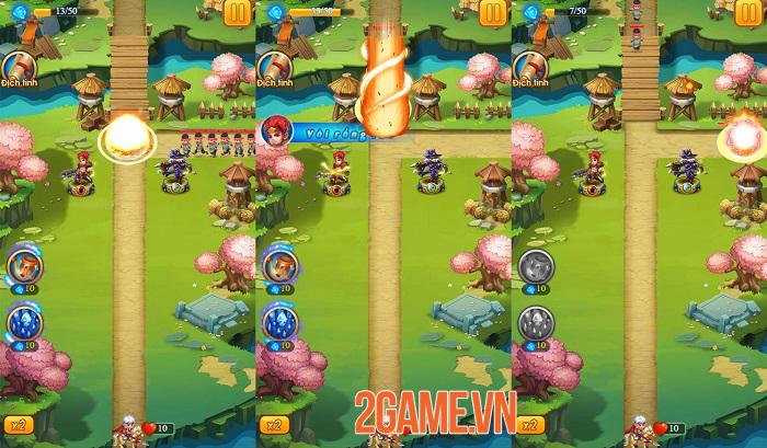 Tam Quốc Thủ Thành H5 có lối chơi chiến thuật thủ tháp nhanh gọn và cuốn hút 2