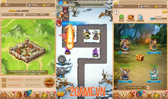 Tam Quốc Thủ Thành H5 có lối chơi chiến thuật thủ tháp nhanh gọn và cuốn hút 4