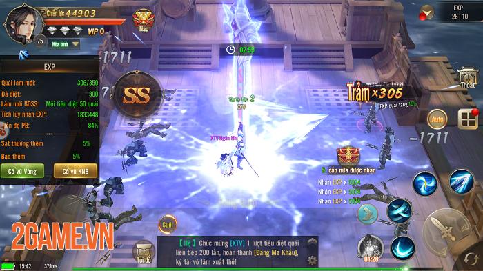 Tuyệt Thế Võ Lâm hội tụ tất cả tinh hoa của dòng game nhập vai kiếm hiệp 2
