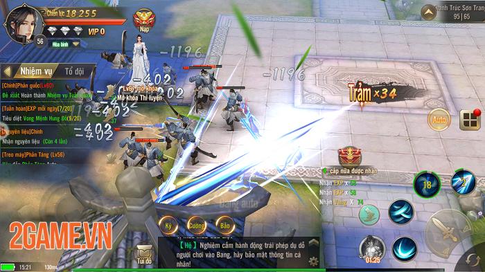 Tuyệt Thế Võ Lâm đang cố tái hiện hình bóng của những tượng đài game kiếm hiệp khi xưa 2
