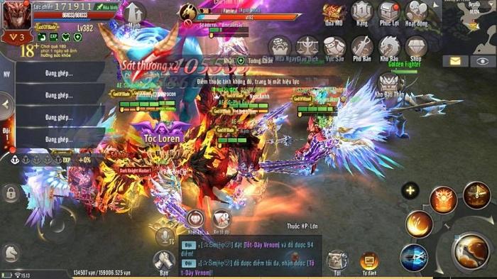 Hiếm có game nhập vai nào gộp máy chủ lại được tung hô như MU Awaken VNG 2