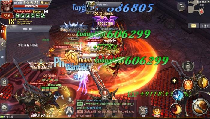 Hiếm có game nhập vai nào gộp máy chủ lại được tung hô như MU Awaken VNG 1