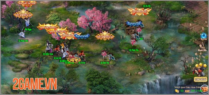 Thiên Hạ Ngũ Tuyệt H5 trông đơn giản nhưng gameplay lại rất sâu 2